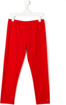 Armani Junior classic sweatpants - kids - Cotton/Spandex/Elastane - 14 yrs