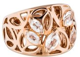 Di Modolo Rock Crystal Medallion Ring