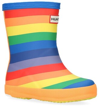 Hunter Rainbow First Classic Wellington Boots