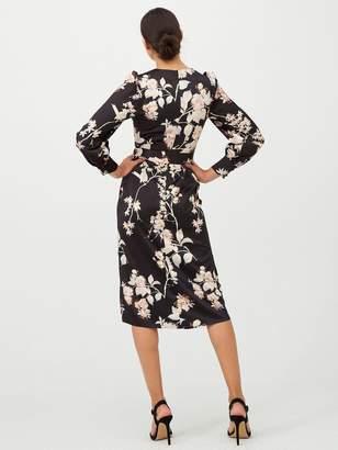Very Printed Midi Dress - Oriental Print