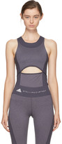adidas by Stella McCartney Grey Yoga Comfort Tank Top