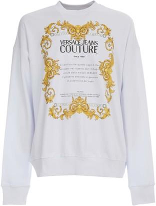 Versace Cotton Oversized Sweatshirt 44 Transfer