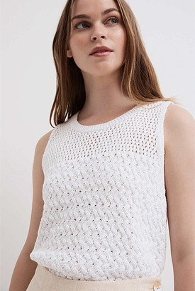 Witchery Textured Knit Tank