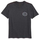 RVCA Boy's Triple Hex Logo Graphic T-Shirt