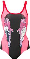 Stella McCartney beach print swimsuit - women - Polyamide/Spandex/Elastane - 38