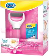 Scholl Velvet Smooth Diamond Pedi Deluxe Gift Set