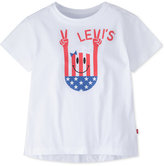 Levi's Graphic-Print High-Low Cotton T-Shirt, Big Girls (7-16)