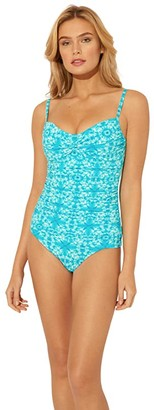 Bleu Rod Beattie Make Waves Tankini Twist (Laguna Teal) Women's Swimwear