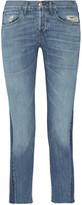 3x1 Von Cropped Mid-rise Straight-leg Jeans - Mid denim