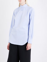 Thom Browne Reverse Oxford-cotton shirt