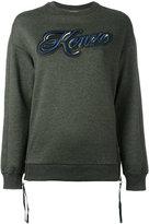 Kenzo Lyrics sweatshirt - women - Cotton/Nylon/Polyester - XS