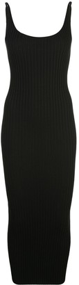 Paco Rabanne Ribbed Dress