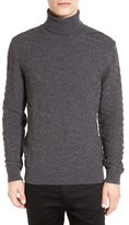 BOSS Men's 'Bertuzzi' Wool & Cashmere Textured Turtleneck Sweater