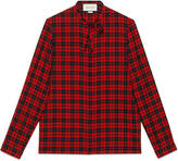 Gucci Tartan Cambridge shirt