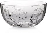 "Bowl, mixing bowl, tray for appetizers, Collection ""MAIGLÖCKCHEN"", lead crystal, transparent, 22,5 cm (GERMAN CRYSTAL powered by CRISTALICA)"