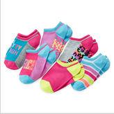 JCPenney Total Girl 6-pk. Pretty Tough No-Show Socks - Girls 7-16