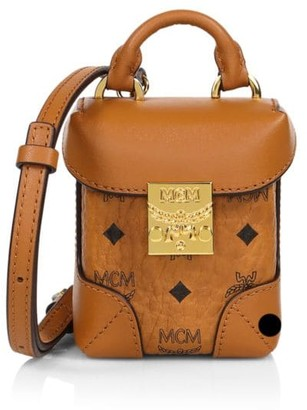 MCM Mini Soft Berlin Visetos Crossbody Box Bag