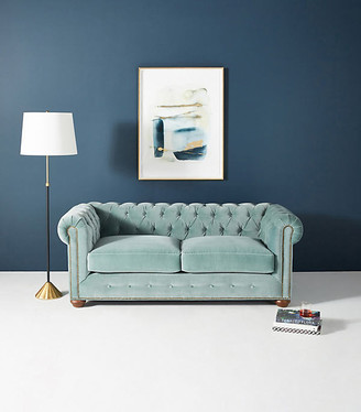 """Anthropologie Dulcimer Petite Chesterfield Sofa By in Assorted Size 76"""""""