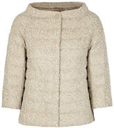 Herno Stone Quilted Bouclé Jacket