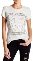 True Religion Heathered Logo Tee