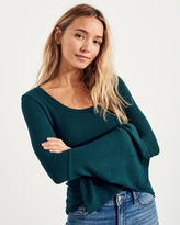 Hollister Slim Bell-Sleeve Top