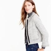 J.Crew Lady jacket in metallic tweed