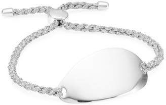Monica Vinader Nura Sterling Silver Friendship Bracelet