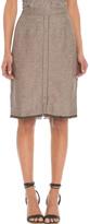 Nic+Zoe Nic + Zoe Trimmed Fringe Skirt