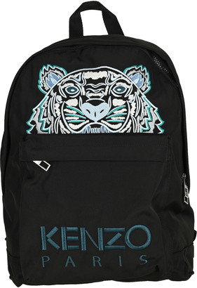 Kenzo Canvas Kampus Tiger Backpack