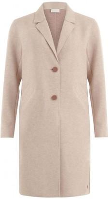 Coster Copenhagen - Raw Edge Coat In Rose Melange - 12