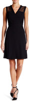 Anne Klein Delicate Lace A-Line Dress