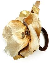 Deborah Rhodes Luxe Orchid Napkin Ring