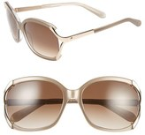 Kate Spade 'laurie' 57mm Sunglasses