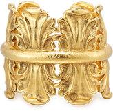 Jose & Maria Barrera Sculpted Golden Cuff Bracelet