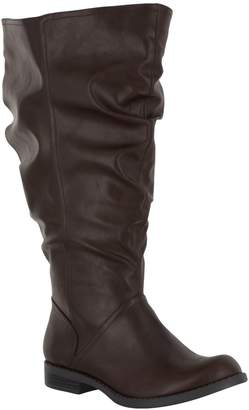 Easy Street Shoes Extra Wide-Calf Riding Boots - PeakPlus Plus
