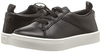 Freshly Picked Classic Lace-Up Sneaker (Toddler/Little Kid) (Black) Kid's Shoes