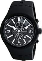 MOMO Design Men's MD1009BK-06BKWT Mirage Chrono Analog Display Swiss Quartz Watch