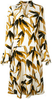 Marni swash print dress - women - Viscose - 42