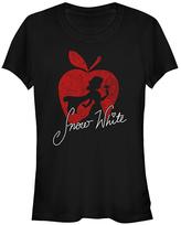 Fifth Sun Black Snow White Silhouette Tee - Juniors
