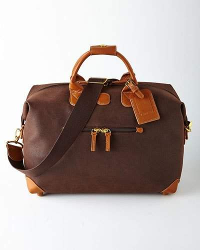 "Bric's Brown MyLife 18"" Duffel"