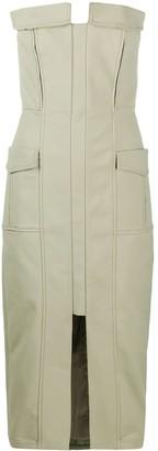 Dion Lee Pocket Bustier Dress