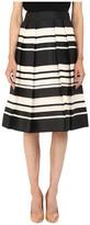 Kate Spade Cape Stripe Organza Skirt