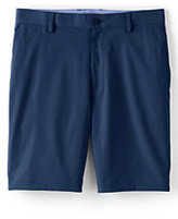 "Lands' End Men's Traditional Fit 9"" Mi-Pro Golf Shorts-Yacht Blue"
