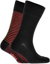 Levi's Levis 2 Pack 168SF Socks Black