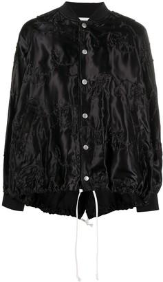 COMME DES GARÇONS GIRL Oversized Embroidered Bomber Jacket