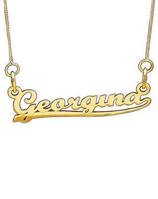 Marisota 9ct Gold Personalised Name Necklace