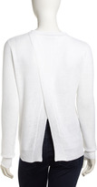 A.L.C. Willow Ribbed Sweater, White