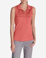 Eddie Bauer Women's Sleeveless Piqué Polo Shirt