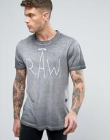 G-star Asteron Raw Logo T-shirt Burnout