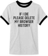 JEM Men's History Delete Graphic-Print T-Shirt